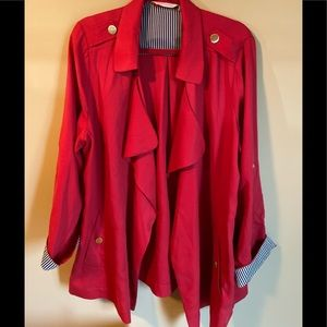 Soft Surrounding Open Jacket Size 1X
